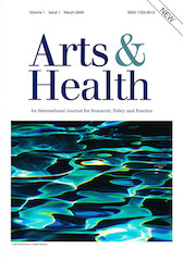 New Journal: Arts & Health