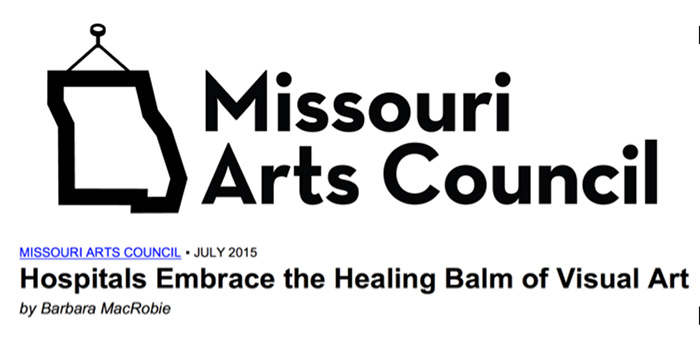 Missouri Arts Council on Art in Healthcare