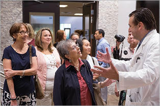 Patients Help in the Design Process at the Florida Cancer Specialists and Research Institute