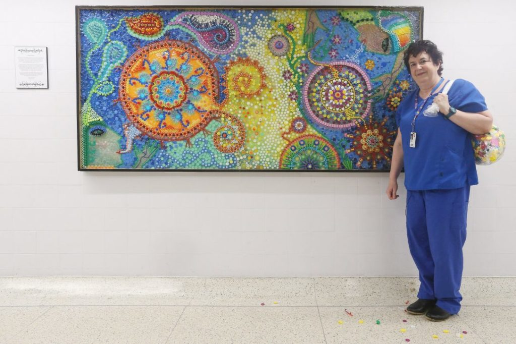 Feel Good Story: New Mural Brings Comfort and Inspiration to Hospital Staff, Patients and Visitors